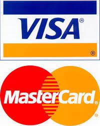 Пластиковые карты Visa, MasterCard