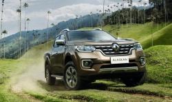 Новинки от Рено: пикап Renault Alaskan
