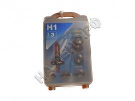 Лампа галогеновая H1 (набор 9 предметов) - Фото 1