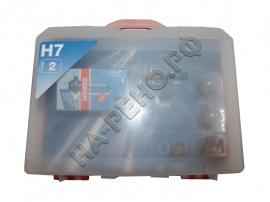 Лампа галогеновая H7 (набор 9 предметов) - Фото 1